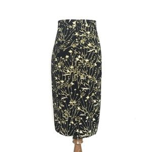 Banana Republic Black Pencil Skirt NWT Size 14
